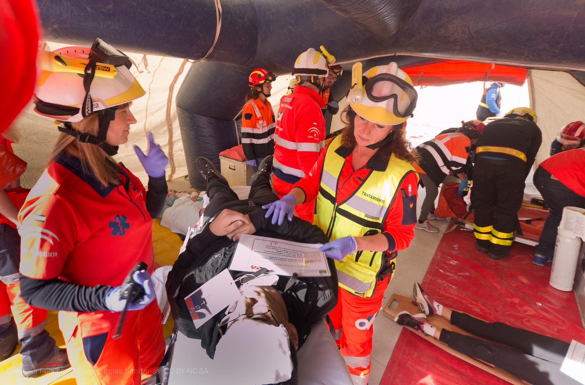 El 061 alcanza los máximos estándares internacionales en prevención de riesgos laborales