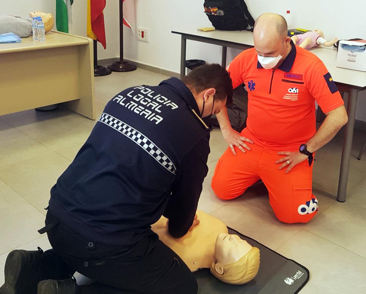 EPES-061 retoma en Almería las jornadas de formación en reanimación cardiopulmonar a primeros intervinientes