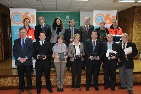 Entrega de premios en Cádiz