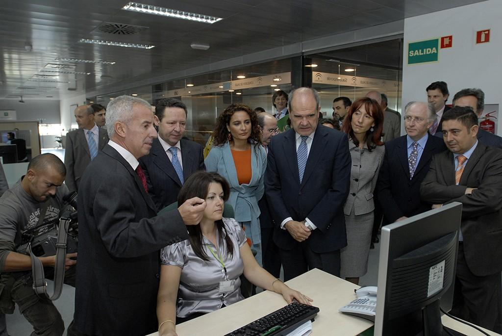Inauguración de las nuevas instalaciones del 061 y sede de Salud Responde en Jaén.