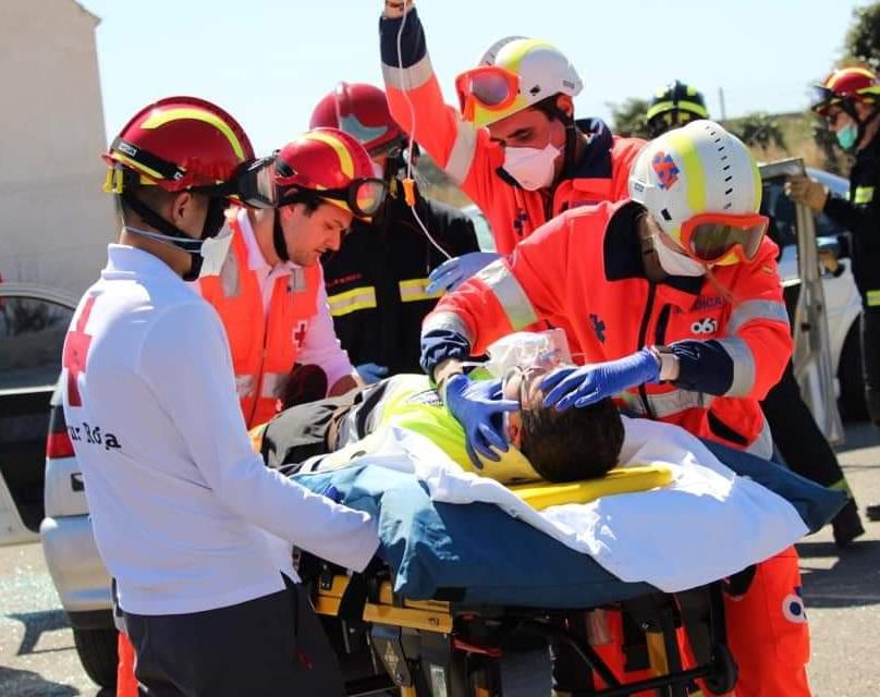 El 061 recibe 359 peticiones de asistencia por accidente de tráfico en Semana Santa