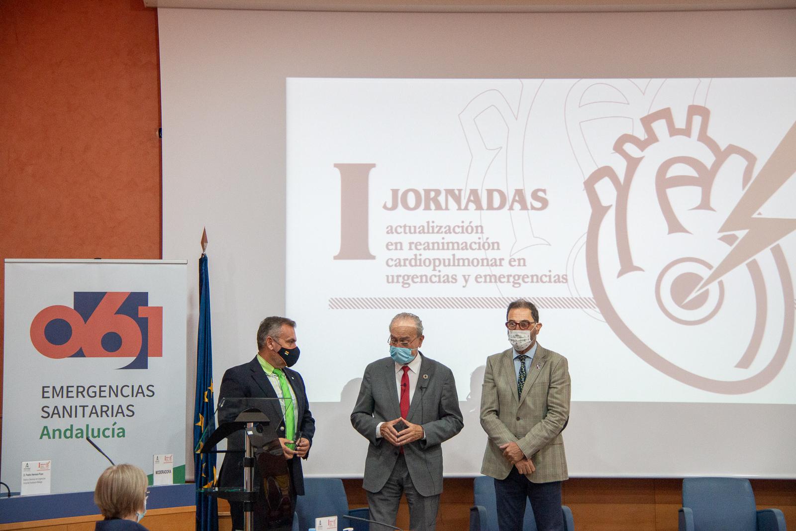 El 061 reúne en Málaga a expertos para analizar la atención a la parada cardiorrespiratoria
