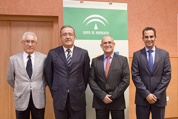 Investidura de Luis Olavarría Govantes como nuevo director gerente de la Empresa Pública de Emergencias Sanitarias.