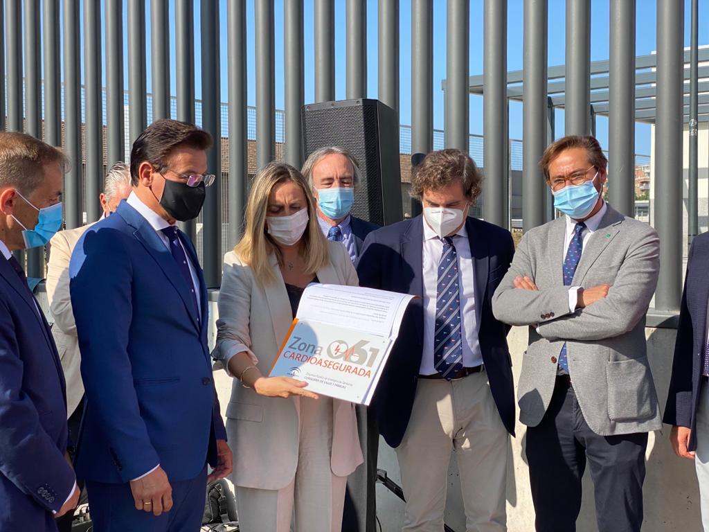 El Metro de Granada celebra su tercer aniversario convirtiéndose en un pasillo cardiosaludable