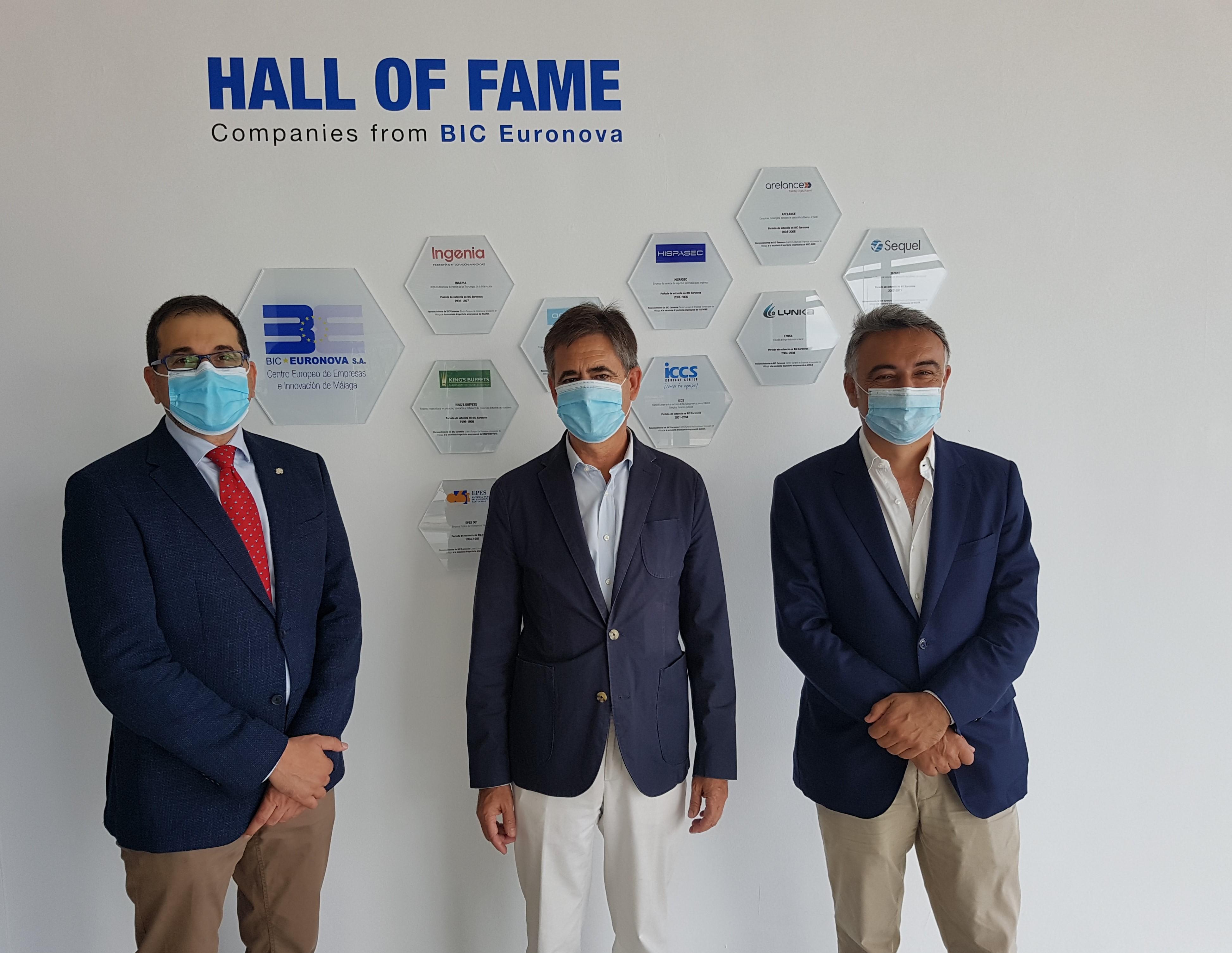 BIC Euronova rinde homenaje a la Empresa Pública de Emergencias Sanitarias EPES 061 y a ICCS, empresas de gran trayectoria nacidas en su centro