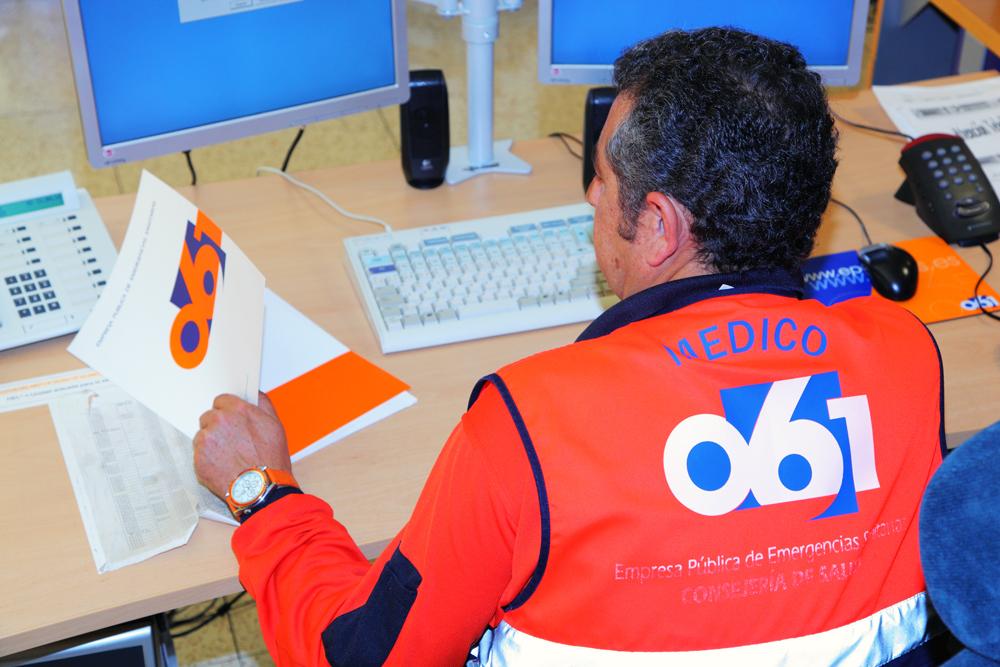 El 061 de Andalucía retoma el entrenamiento de sus más de 800 profesionales con un programa de formación on line