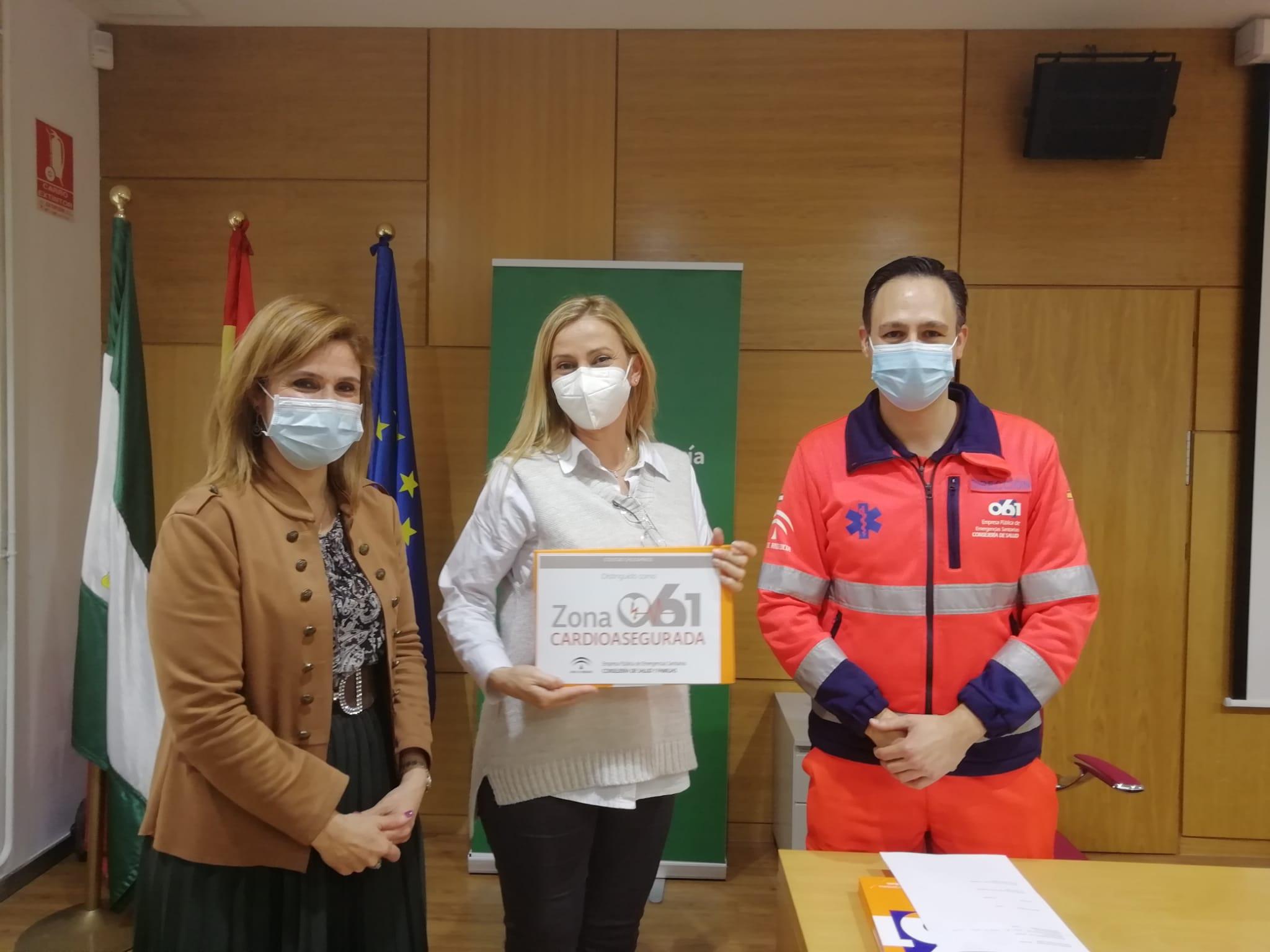 Salud distingue como 'zonas cardioaseguradas' a 11 nuevas instalaciones en Jaén