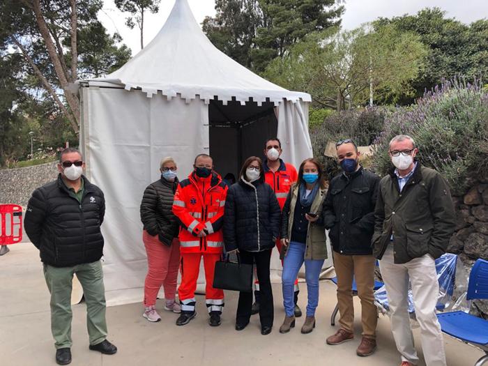 Los profesionales del 061 en Almería finalizan la primera fase de vacunación para la Covid 19