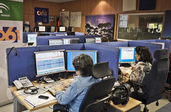 Las llamadas por coronavirus descienden un 67% en los centros coordinadores de 061
